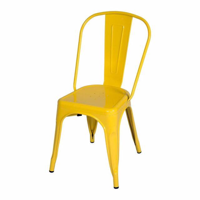 Cadeira Francesinha Tolix Amarela