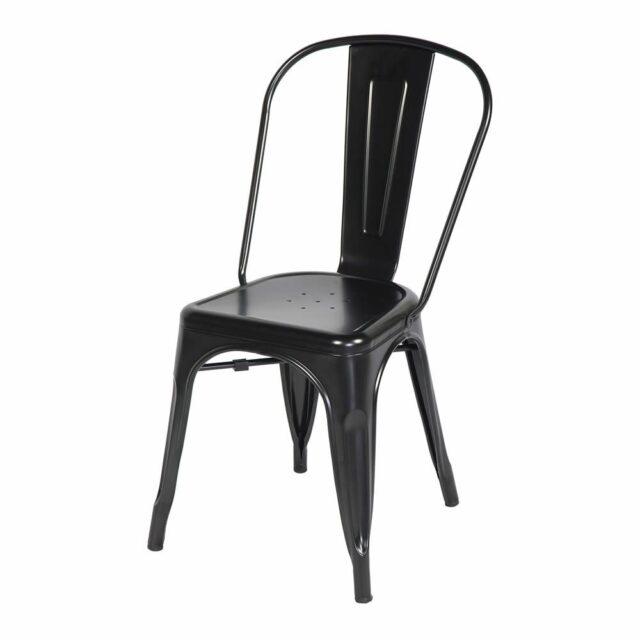 Cadeira Francesinha Tolix Preta