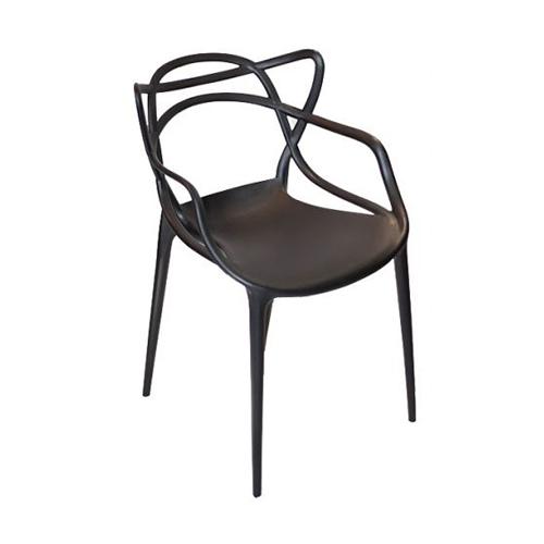 Cadeira Allegra Masters Polipropileno Preta