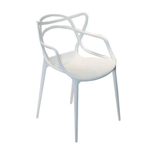 Cadeira Allegra Masters Polipropileno Branca