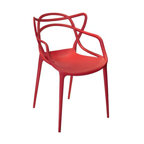 Cadeira Allegra Masters Polipropileno Vermelha
