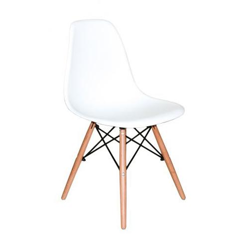 Cadeira Charles Eames Abs Branca