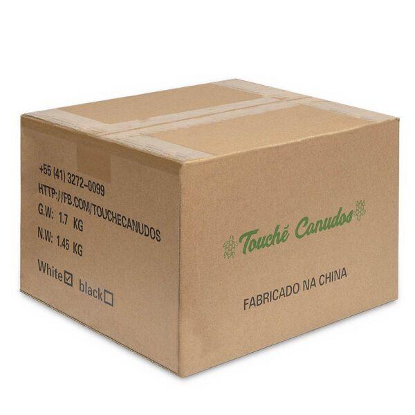 Canudo Biodegradável Preto (1000 unidades)