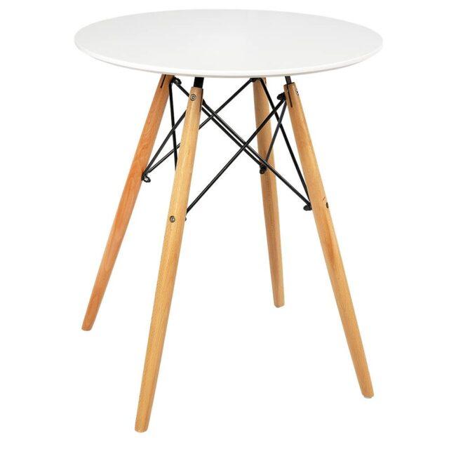 Mesa de Jantar Eames 60cm Branca