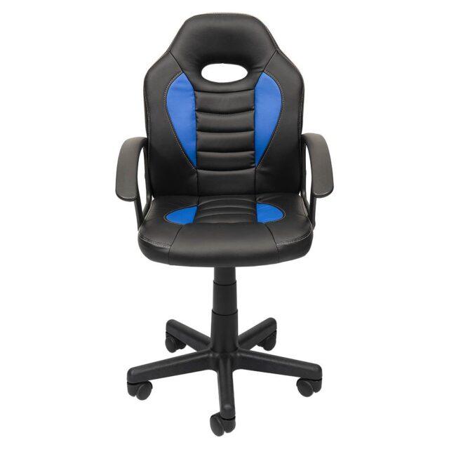 Cadeira Gamer Infanto-Juvenil Giratória Azul